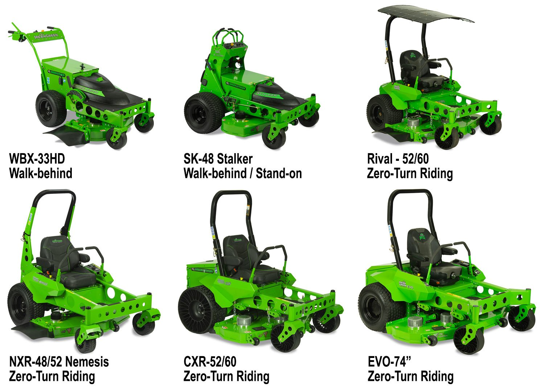 Mean Green 2020 Mower Lineup