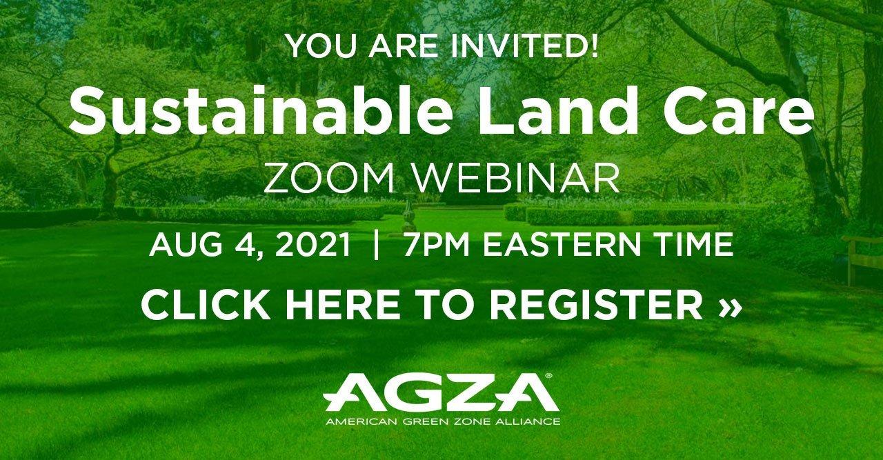 Sustainable Land Care Webinar